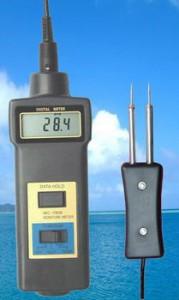 Alat Pengukur Kelembaban dan Suhu Kayu MC7806
